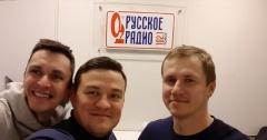 Александр Шапошников в гостях у Русского радио Томск