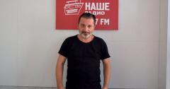 Вадим Самойлов (Агата Кристи) побывал в гостях у Нашего Радио Томск