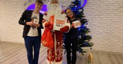 Дед Мороз на Радио ENERGY Томск