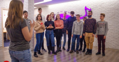 Школа Ведущих ТГУ в гостях у радиохолдинга Дайджест FM