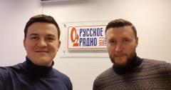 Максим Грищенко в гостях у Русского радио Томск