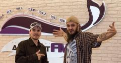BBoy Амир приходил в гости на DFM Томск