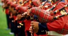 Шотландская вечеринка в Музейном саду