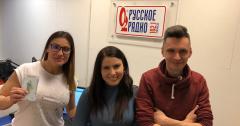 Лена Солдатов, аспирант ТПУ гость Русского Радио Томск