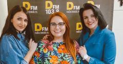 Елизавета Соколова,  блогер отметилась на DFM Томск