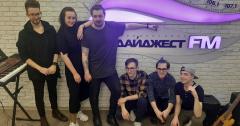 Sandrò в эфире Хит FM Томск