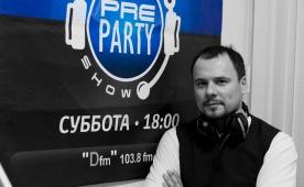 Michael Gray в PRE PARTY SHOW на Ди FM