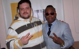 Майкл Блэйз (Michael Blayze) в эфире Ди FM Томск, 18 ноября, 2011 г.