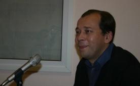 "Вячеслав Гуливицкий (""Дети лейтенанта Шмидта"") в гостях у Юмор FM, 3 ноября, 2011 г."