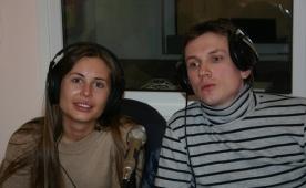 Юлия Михалкова и Вячеслав Мясников