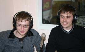 Владимир Кузьмин, Дамир Бакеев и Алексей Михин в гостях у Юмор FM