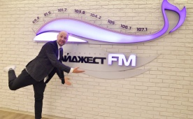 Владимир Маркони в гостях у DFM