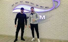 ЮДИ (Денис Вишняк и Игорь Андрикевич) в гостях у Хит FM Томск