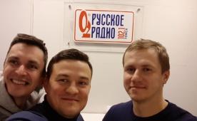 Александр Шапошников на Русском Радио Томск