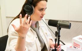 Даша Афонасова на Радио ENERGY Томск
