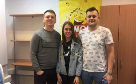 Язев и Медведев (КВНщики) на Юмор FM Томск