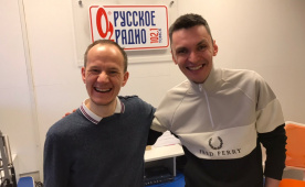 Антон Дирин побывал на Русском радио