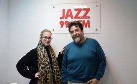 Francesca Tandoi и Emanuele Cisi побывали в гостях Радио JAZZ Томск