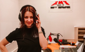 Татьяна Агапова на Хит FM Томск