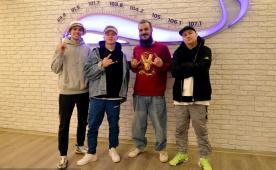 Volac & DJ Kashin на DFM Томск