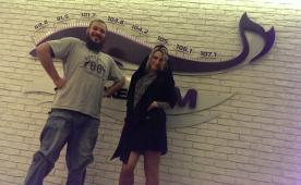 DJ Yallaa Miller на DFM Томск