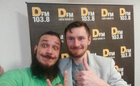 DJ Андрей Павлов был в гостях у DFM Томск