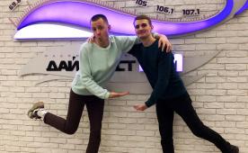 Понедельник с комиком на Юмор FM. Дима Клевцов иТоля Николаенков