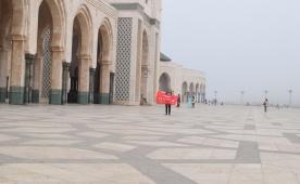 Марокко. Касабланка. Собор Сакре-Кер. Октябрь. 2017